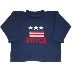 Child's Personalized USA Sweater