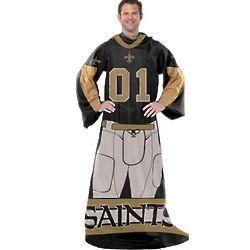 New Orleans Saints Player Uniform Comfy Throw