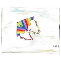 Rainbow Kite Watercolor Personalized Print