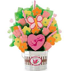 Grand Mother's Day Cookie and Candy Bouquet