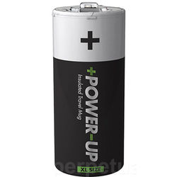 Power Up Battery Travel Mug