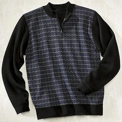 Men's Zigzag Sweater