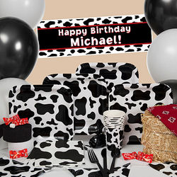 Cow Print Ultimate Kit-N-Kaboodle Party Supplies
