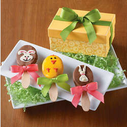 Easter Decorated Praline Pops
