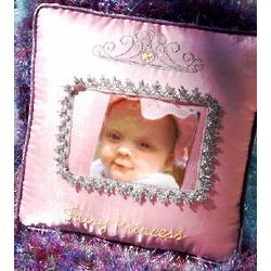 Pink Princess Picture Pillow