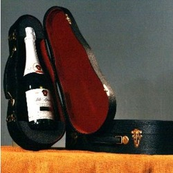 Wine Bottle Violin Case