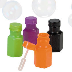Halloween Bubble Bottles