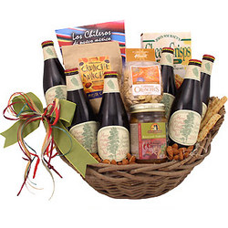 Christmas Cheer and Beer Gift Basket