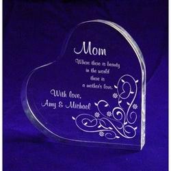 A Mother's Love Keepsake Heart