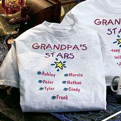"Personalized Any Title ""Stars"" Sweatshirt"