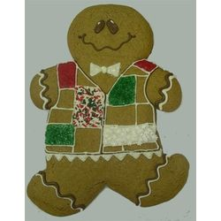 Giant Hand Decorated Gingerbread Man