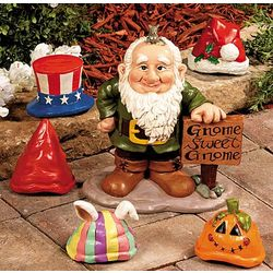 Gnome Greeter with Hats