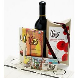 Organic Chocolate & Sustainable Wine Pairing Kit