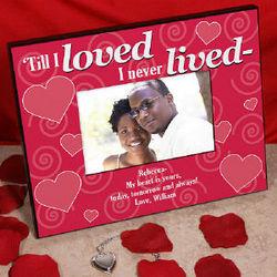 Till I Love Printed Heart Frame
