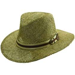Men's Twisted Seagrass Safari Hat