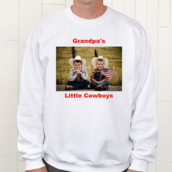Personalized Photo Sweatshirt