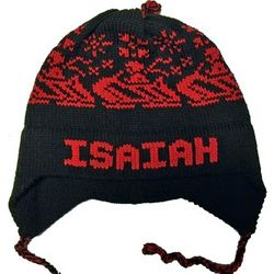 Personalized Winter Sled Hat