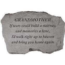 Grandmother Memorial Garden Stone
