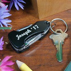 Personalized Graduation Multi-Tool LED Key Chain