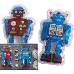 Reusable Retro Robot Hand Warmers