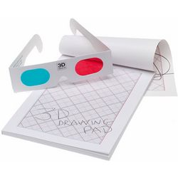 3D Drawing Pad with Glasses