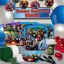 Avengers Assemble Ultimate Kit-N-Kaboodle Party Set