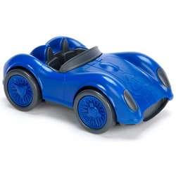 Eco-Friendly Blue Racecar