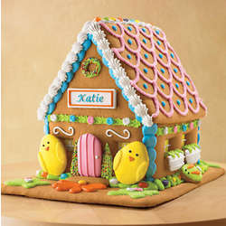 Personalized Easter Sugar Cookie House