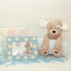 Bedtime Puppy Baby Gift Set for Boys