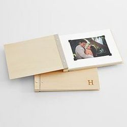 Family Name Personalized Wooden Photo Album