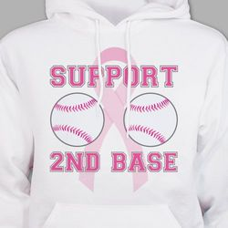 Support Second Base Hooded Sweatshirt
