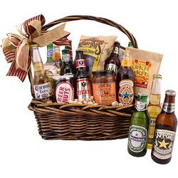 Beers Around the World Gift Basket