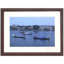 Boats on Perfume River Photograph