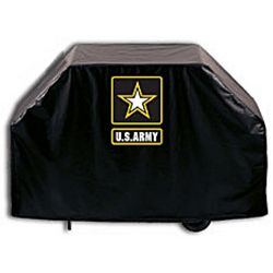 US Army Black Grill Cover