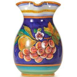 Italian Deruta Uva Fresca Ceramic Pitcher