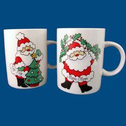 Personalized Hand Painted Porcelain Christmas Mug