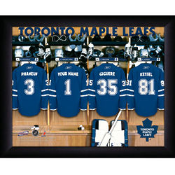 Personalized NHL Toronto Maple Leaves Locker Room Sign