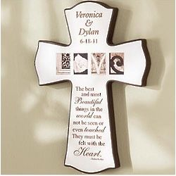 Personalized Love Quote Cross