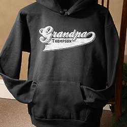 Personalized Grandfather Hooded Sweatshirt
