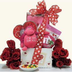 My Sweetie Valentine's Day Kid's Gift Basket for a Girl