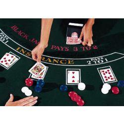 Blackjack Casino Game Layout