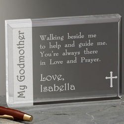 To My Godparent Personalized Plaque