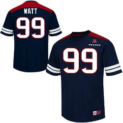 JJ Watt Houston Texans Hashmark Jersey T-Shirt