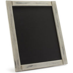 Antiqued Chalkboard Menu