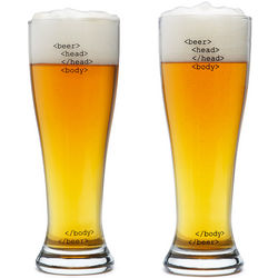 HTML Code Beer Glasses