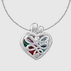 Loving Family Birthstone Locket