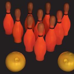 Glow-in-the-Dark Bowling Set