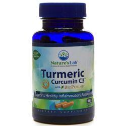 60 Capsules of Turmeric Extract Curcumin C3 with BioPerine