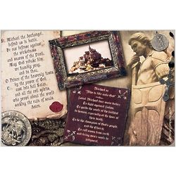 St. Michael Story and Prayer Sign