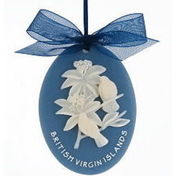 Dove Coral Ornament